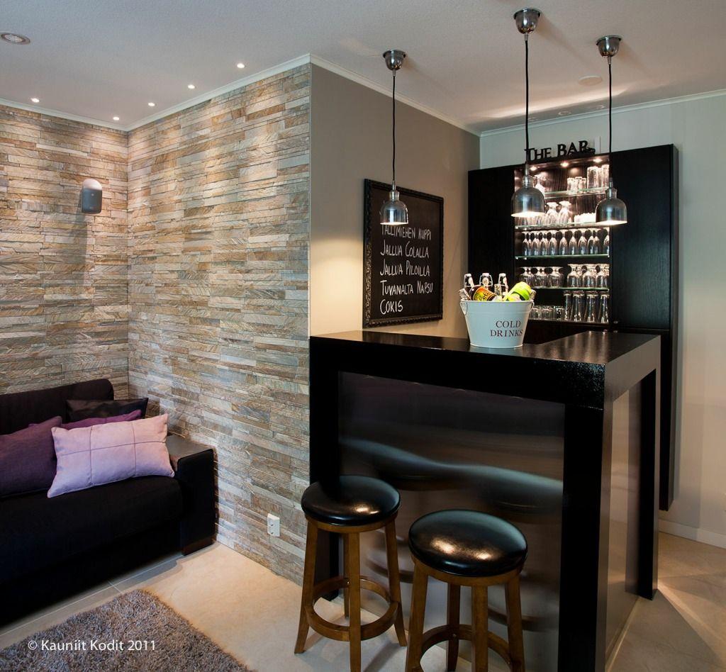 Sisustussuunnittelu Marika Kurki Kodit Kohde 3 Home Bar Designs Bars For