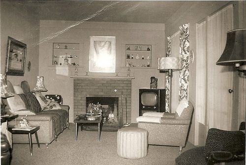1950s living rooms retro interiors pinterest 1950s - 1950 s living room decorating ideas ...