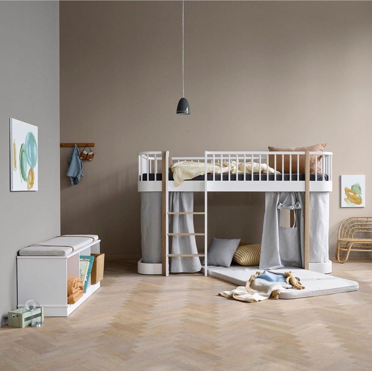 Oliver Furniture Wood Low Loft Bed in 2020 Low loft beds