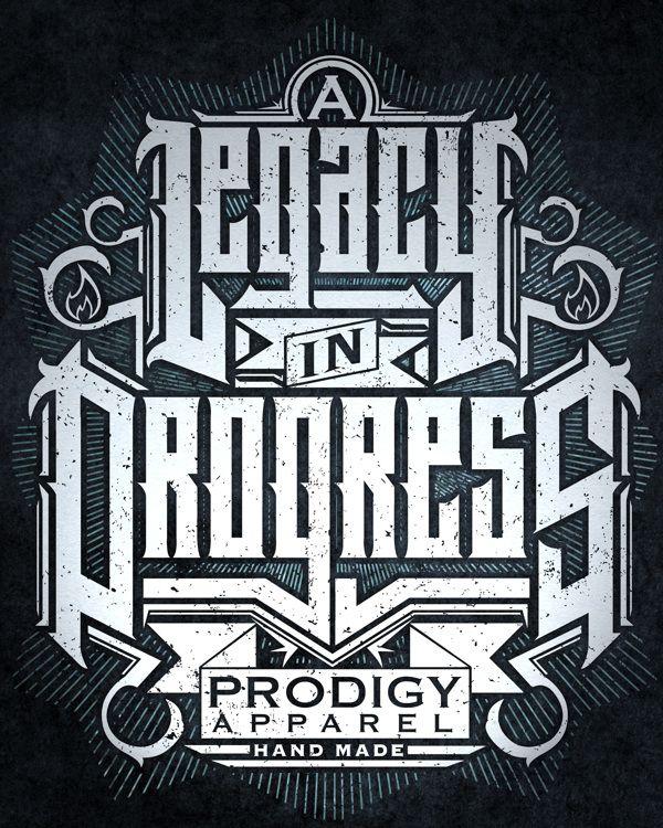 Shirt/Poster Design for Prodigy Apparel Kaos