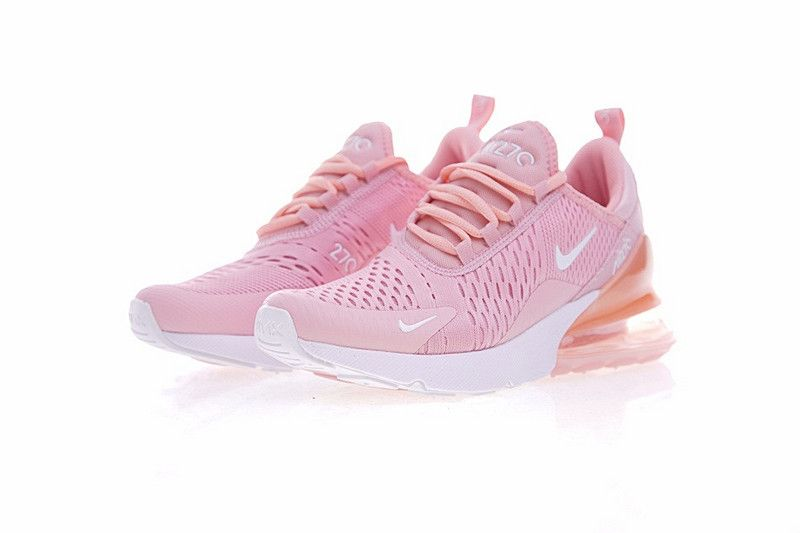 Nike Air 270 Flyknit Pink AH8050 610 Women's Running Shoes Sneakers AH8050 610