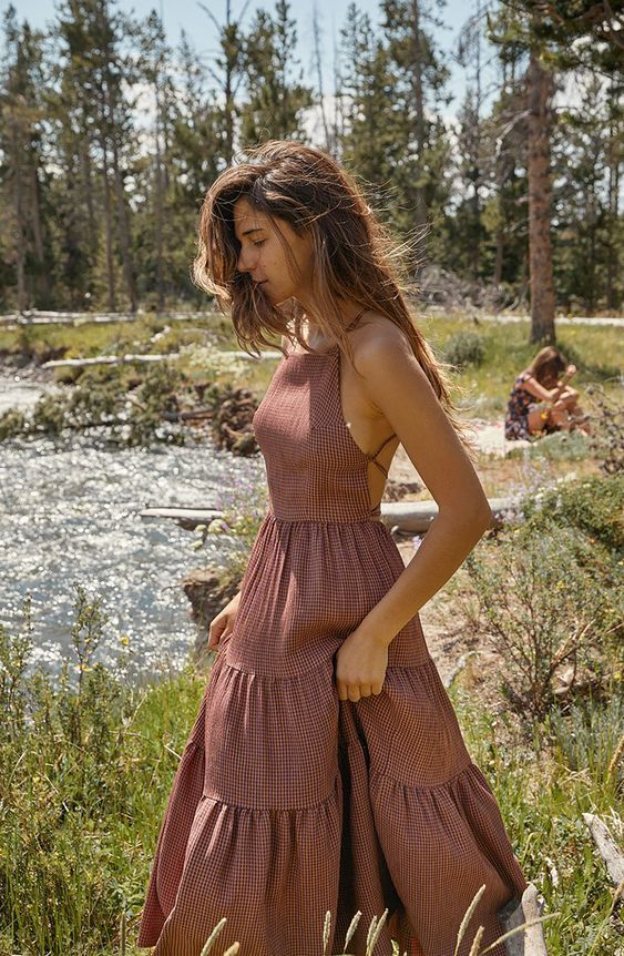 Long Summer Boho Dress
