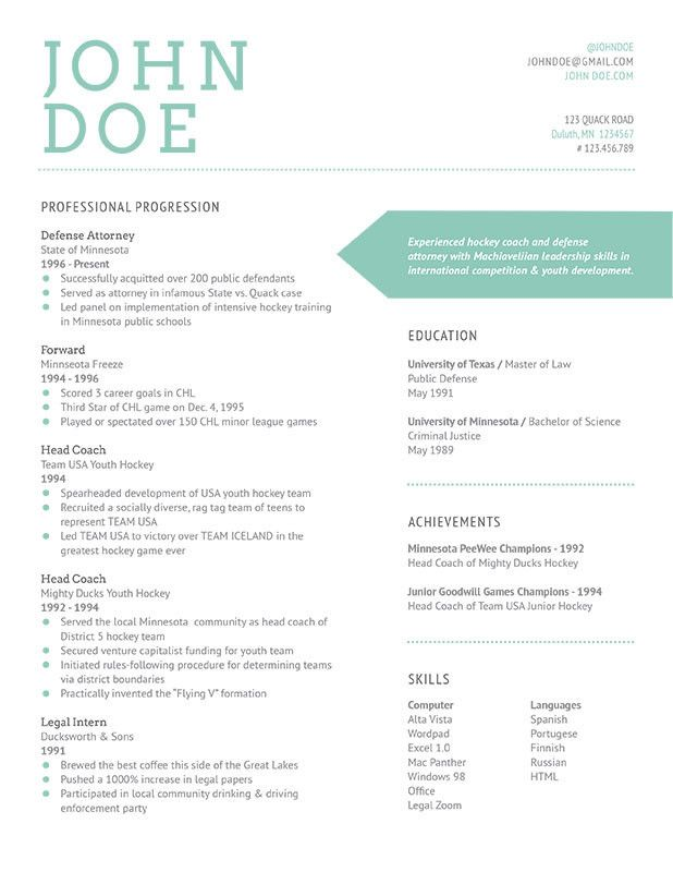 Ignis Resume Bespoke Resumes Miscellaneous Pinterest - venture capital resume