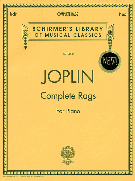 Complete Rags for Piano Sheet Music DOWNLOAD Sheet music