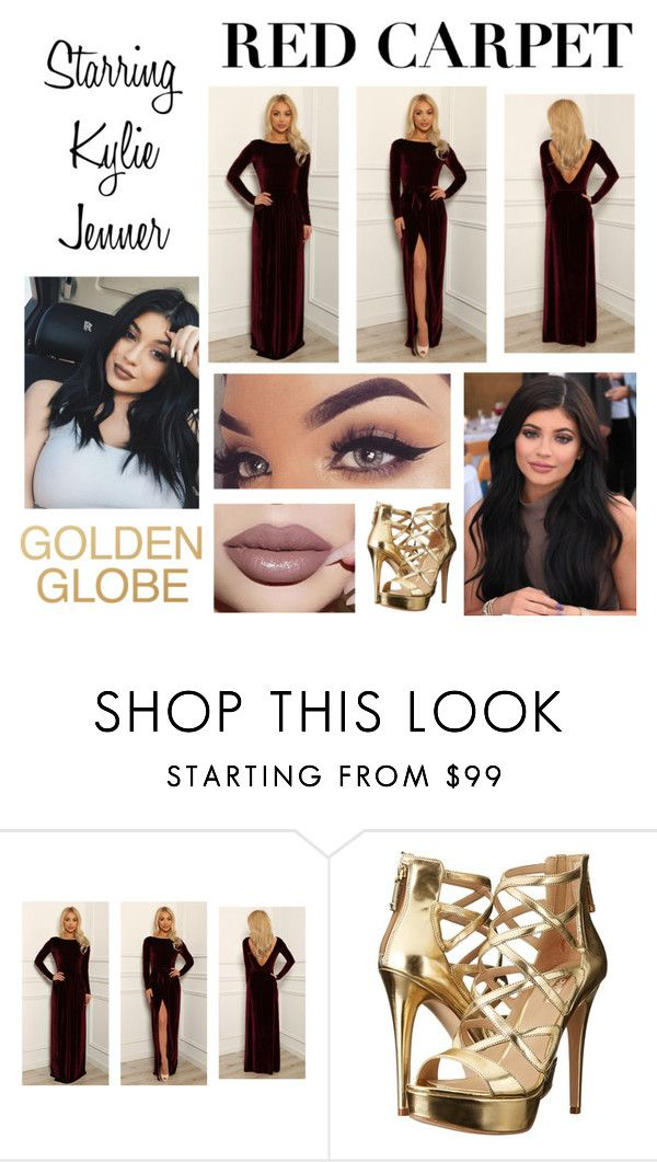 """""""Red Carpet: Kylie Jenner Style"""" by sharonacker ❤ liked on Polyvore featuring GUESS"""
