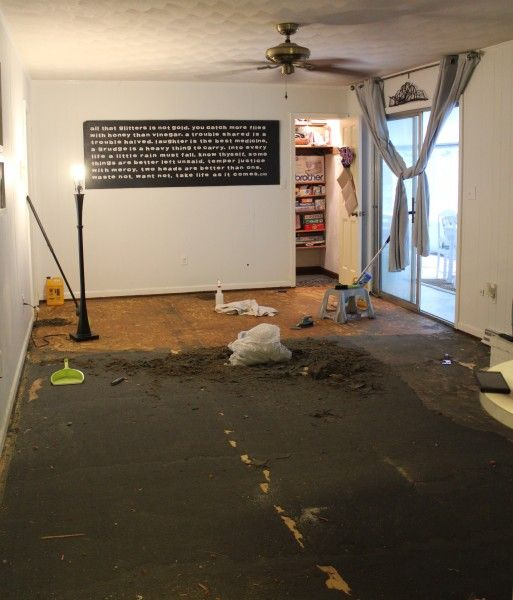 How To Remove Glued Down Carpet Basement How To Remove