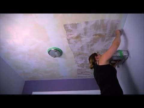 Tired Of Your Outdated Bumpy Lumpy Cottage Cheese Looking Texture On Your  Ceilings? Even If It Has Been Painted Several Times Now There Is A Safe Way  To ...