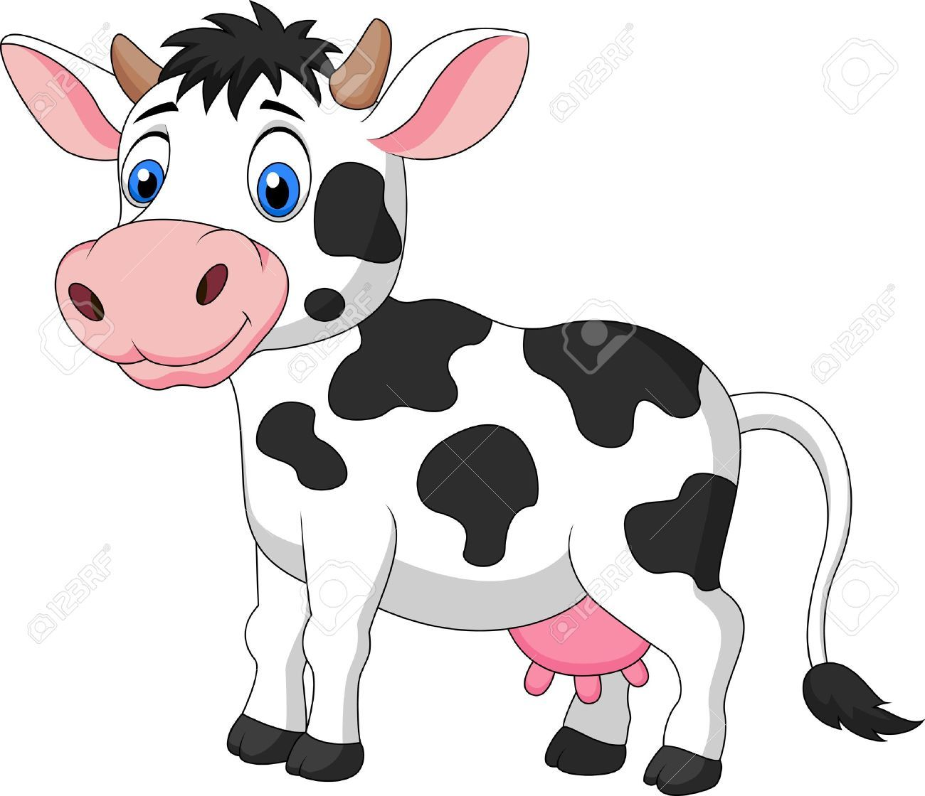 Pin By Jomaesar On Orto Cute Cows Cartoon Cow Cow Clipart