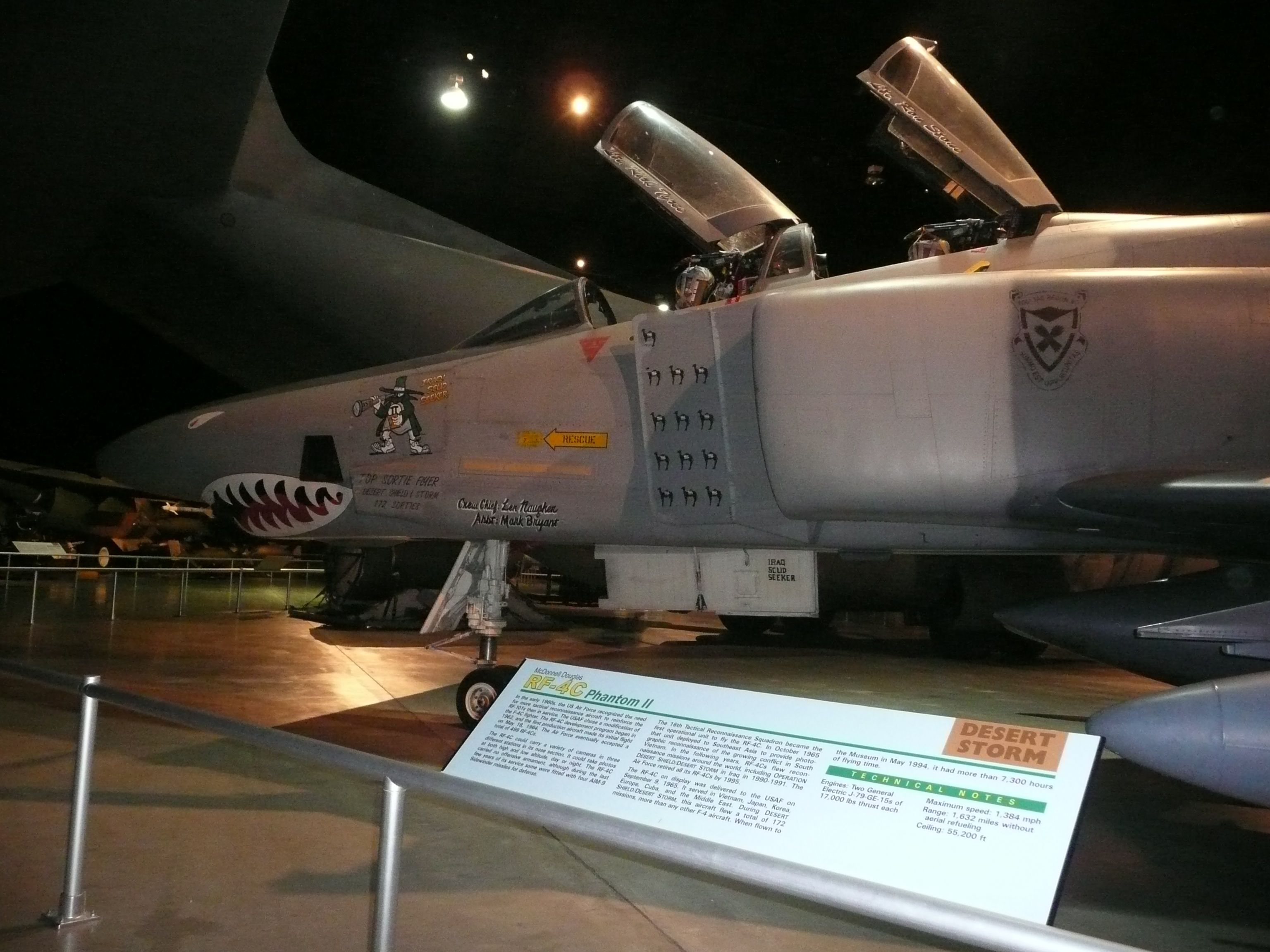 USAF RF4C Phantom II from AF Museum in Dayton, my