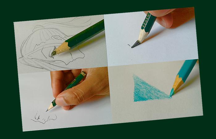 7 problemas causados pelo mau uso dos lápis de desenho