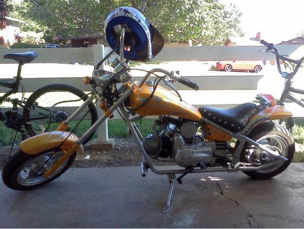 100cc Mini Chopper For Trade Mini Chopper Chopper Mini