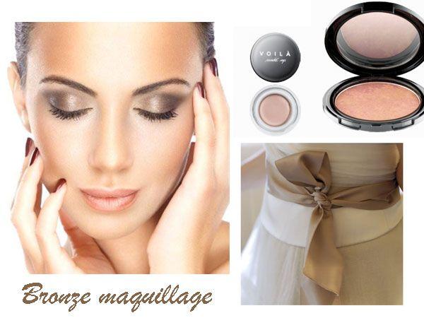 Il bronze maquillage