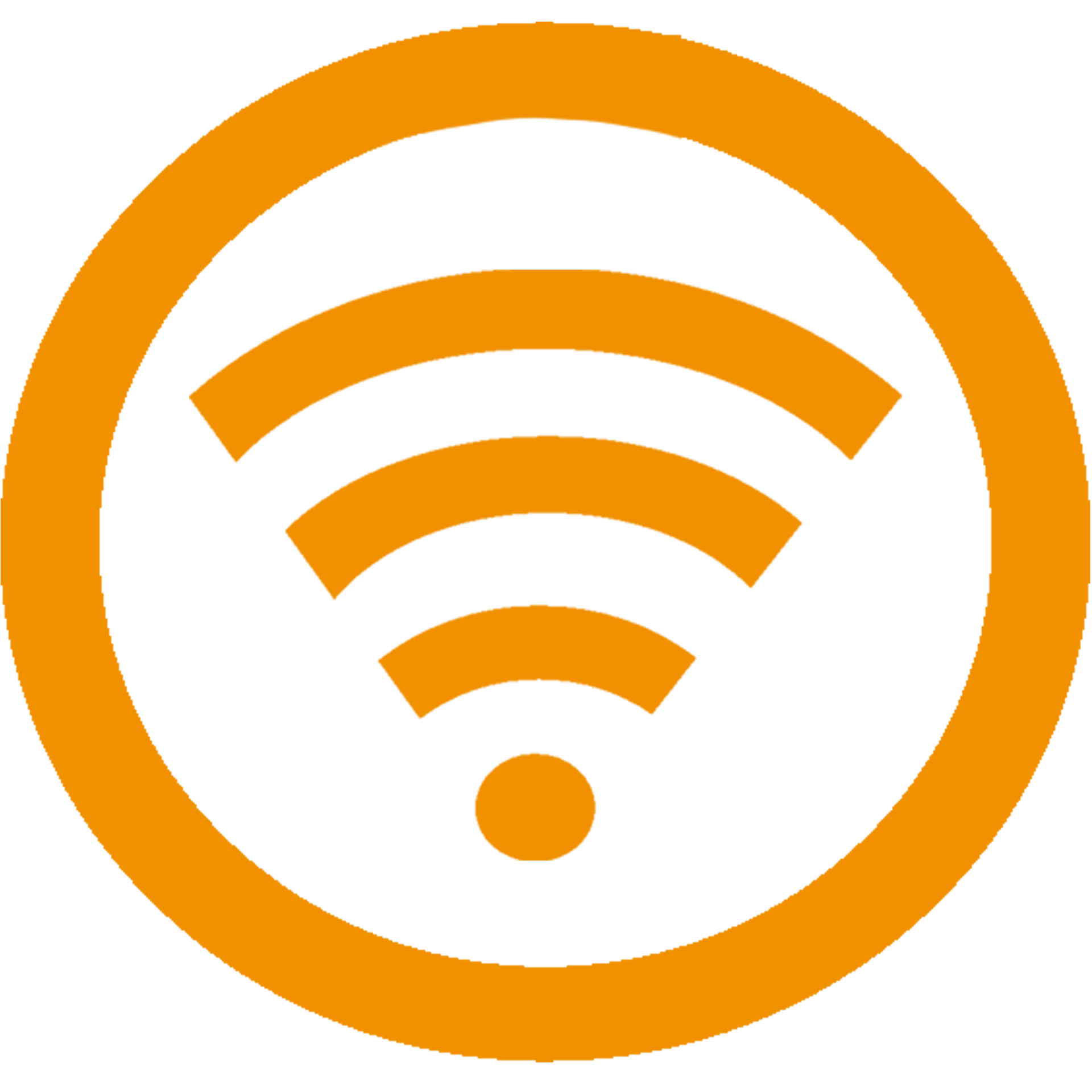 Wifi Icon Yellow PNG Image Wifi icon, Icon, Wifi