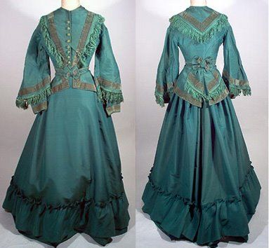 mid 1860s ( altered in the 1870s and restored) #dressesfromthesouthernbelleera