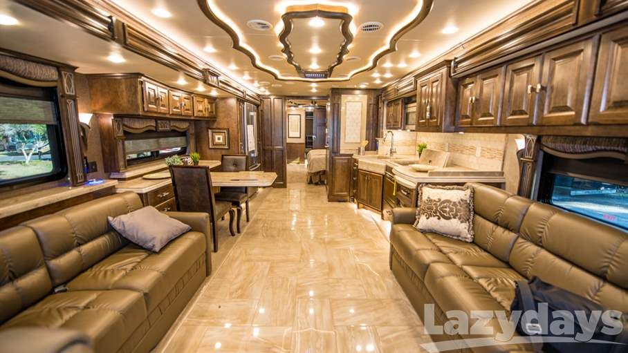 Top 5 Luxurious Rvs Luxury Rv Living Luxury Rv Luxury Motorhomes