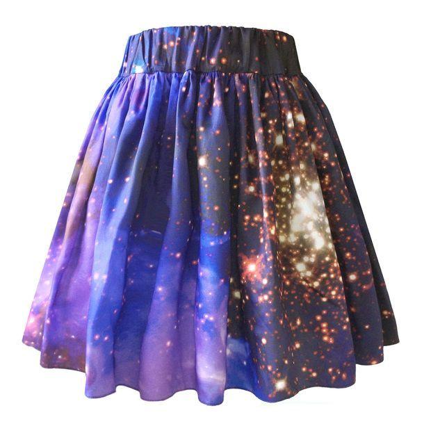 Starburst Galaxy Skirt