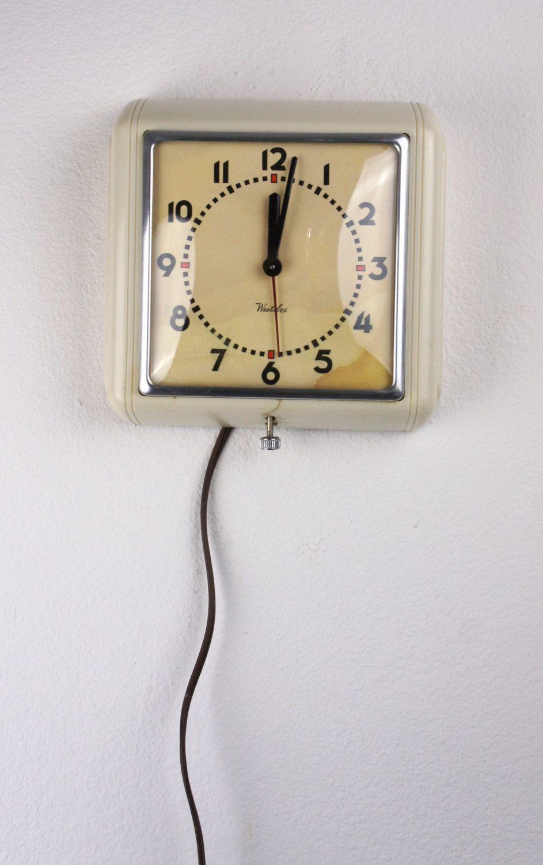 Kitchen Wall Clock White