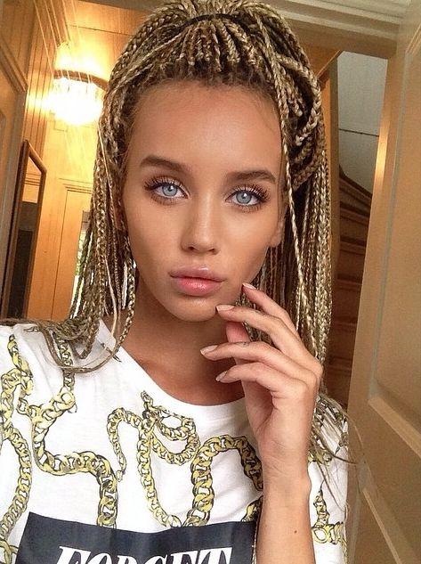 Hellylife Instagram Idea Braids Blonde Braids Hair