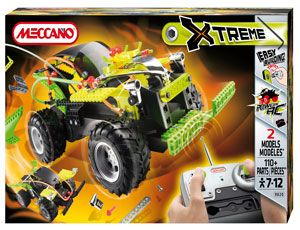 The Meccano Xtreme RC 4X4 RC Car in the Extreme range has a