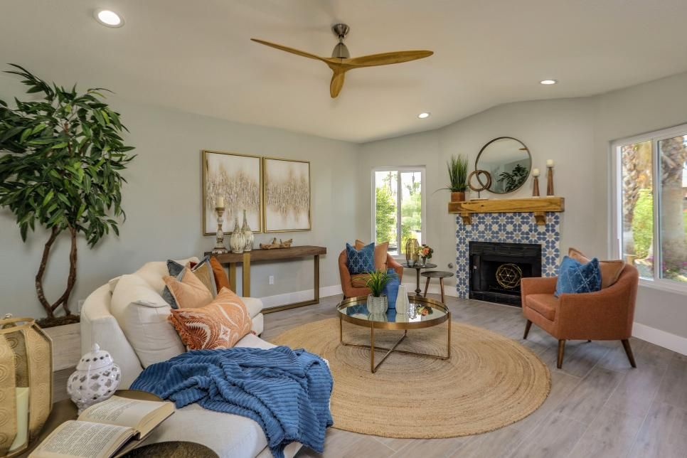 After Mediterranean Marvel Living Room Makeover Best Living Room Design Living Room Designs