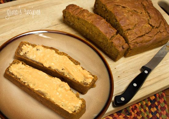 Pumpkin Banana Bread - This came out super moist and we had a difficult time waiting for it to cool because it smelled so good! We scoffed up half this bread before I got a chance to photograph it. This was wonderful topped with some Pumpkin Spiced Cream Cheese! #pumpkin