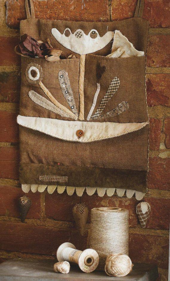 PROJECT BOOK: Primitive Folk Art Book by Maggie Bonanomi - THisTLe DowN MOON