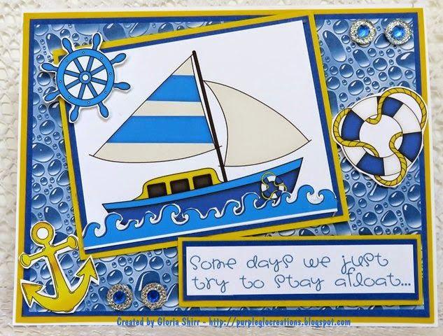 "Purpleglo Creations: Encouragement Card Using Imagine That! Digis By Kris ""My Sailmate"" Digi set. http://purpleglocreations.blogspot.com/2015/04/encouragement-card-using-imagine-that.html"