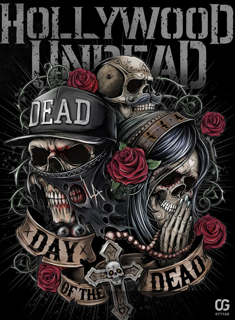 hollywood undead day of the dead by