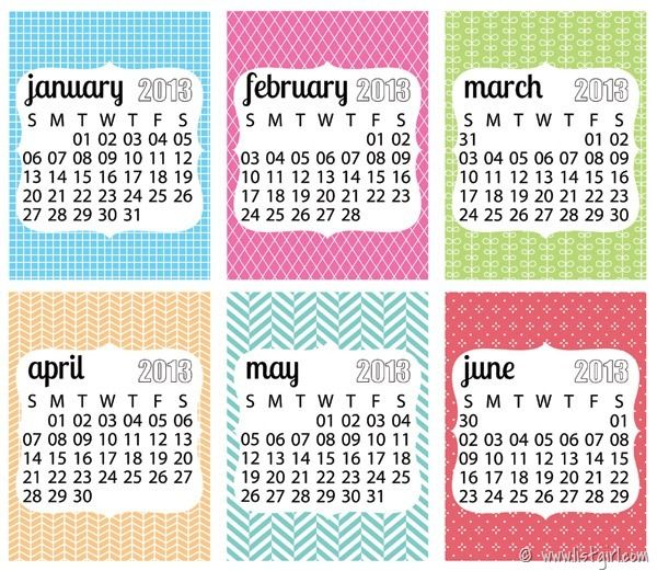 Writeickrapbook 2013 Calendars Listgirl Journaling