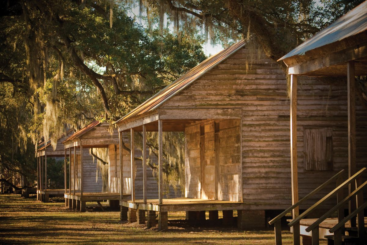 Some Of The Historic Slave Cabins From Evergreen Plantation! #Louisiana  #Plantations #Evergreen