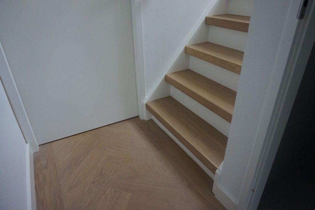 Visgraat traprenovatie schody