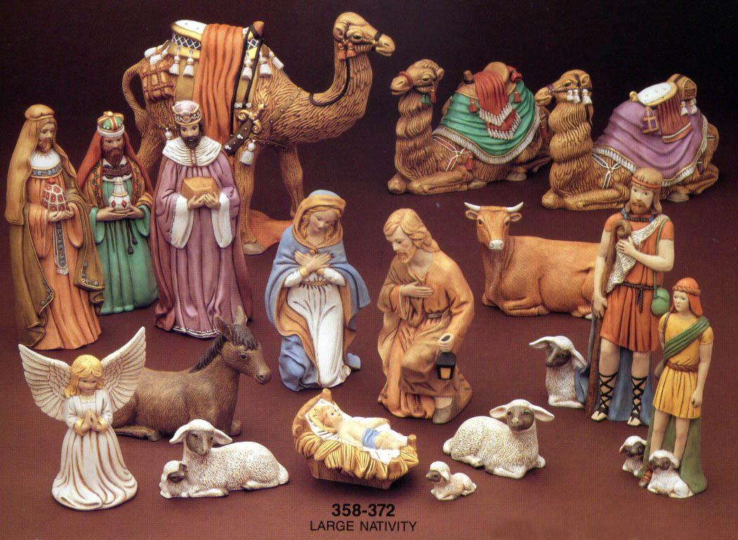 Nativity Sets Painted Turtle Nativity Set Ceramic Nativity Set Christmas Nativity Scene