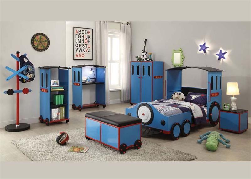 Delicieux Boys Bedroom#train Bed#blue Room#youth Bedroom#Tobi Bedroom Set Acme