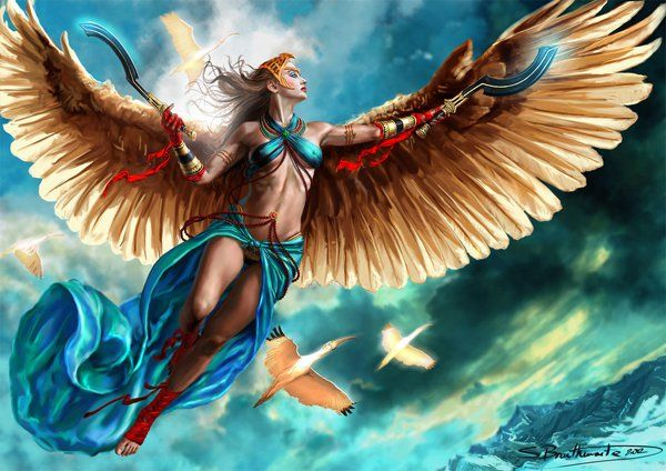 Flight of the Ibis - 30 Mind-Blowing Examples of Angel Art  <3 <3