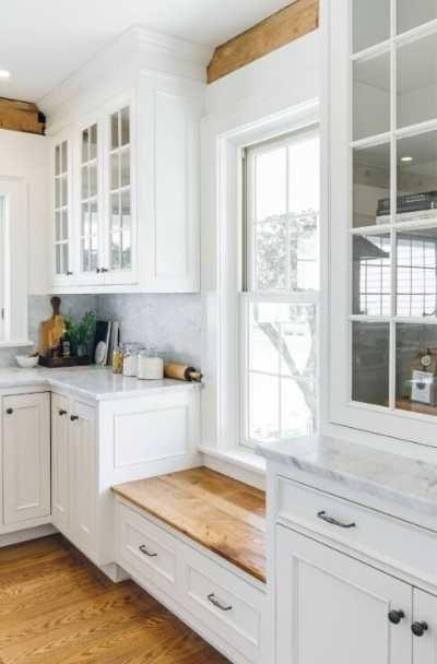 37 Modern Farmhouse Kitchen Cabinet Ideas