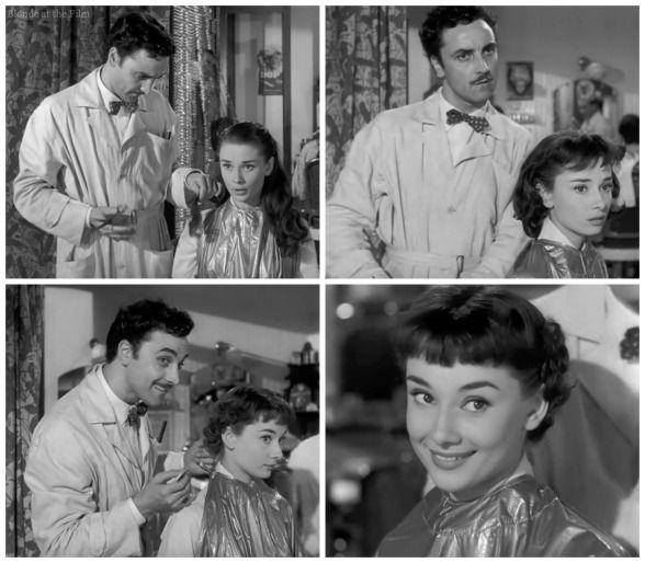 Roman Holiday Haircut Style Icons Pinterest Audrey Hepburn