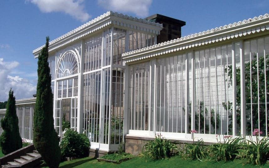 Glasshouses A History In Pictures With Images Roof Architecture Patio Roof Roof Styles