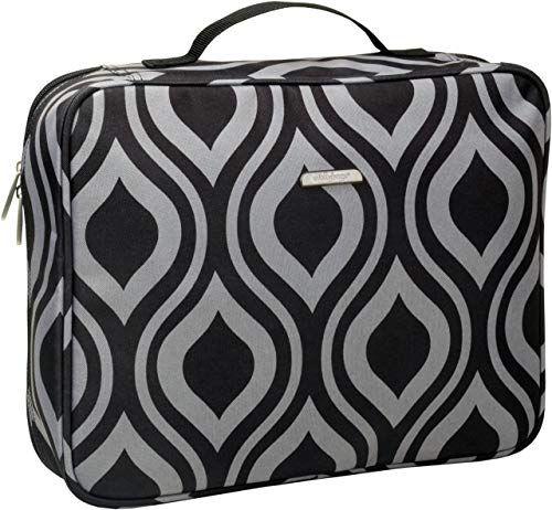 InterestPrint Large Duffel Bag Flight Bag Gym Bag Vintage Pattern