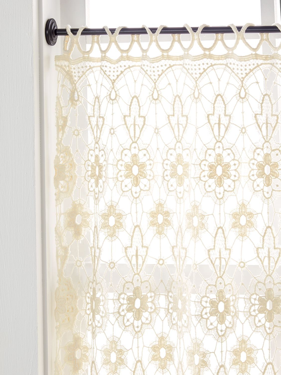 Macrame Medallions Tier Panel In 2020 Boho Kitchen Curtains Living Room Decor Curtains Curtains #tier #curtains #living #room