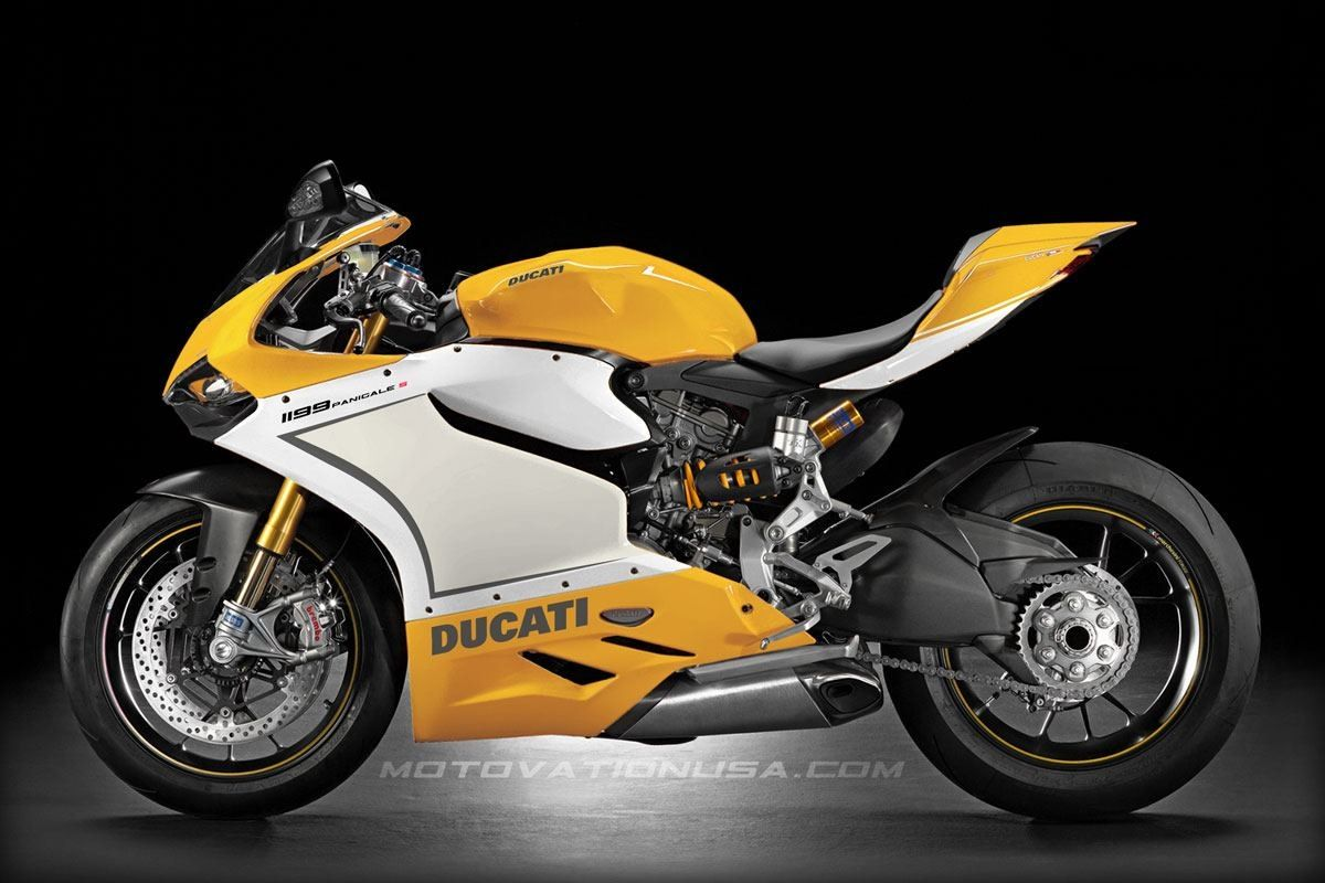 Ducati 1199 Panigale color concept - yellow. | Motovation ...