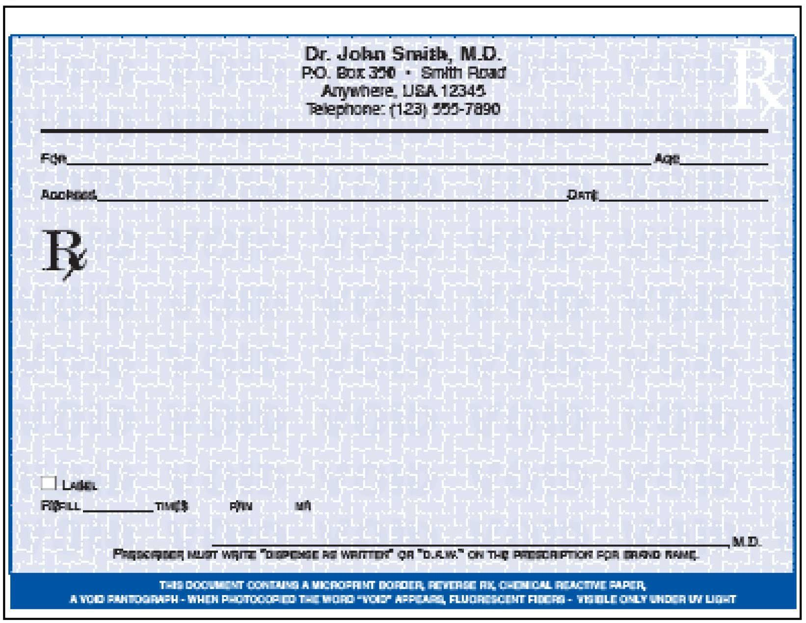 The Fascinating 010 Medical Prescription Template Microsoft Word Pad Pdf Within Doctors Prescription Prescription Pad Microsoft Word Free Medical Prescription