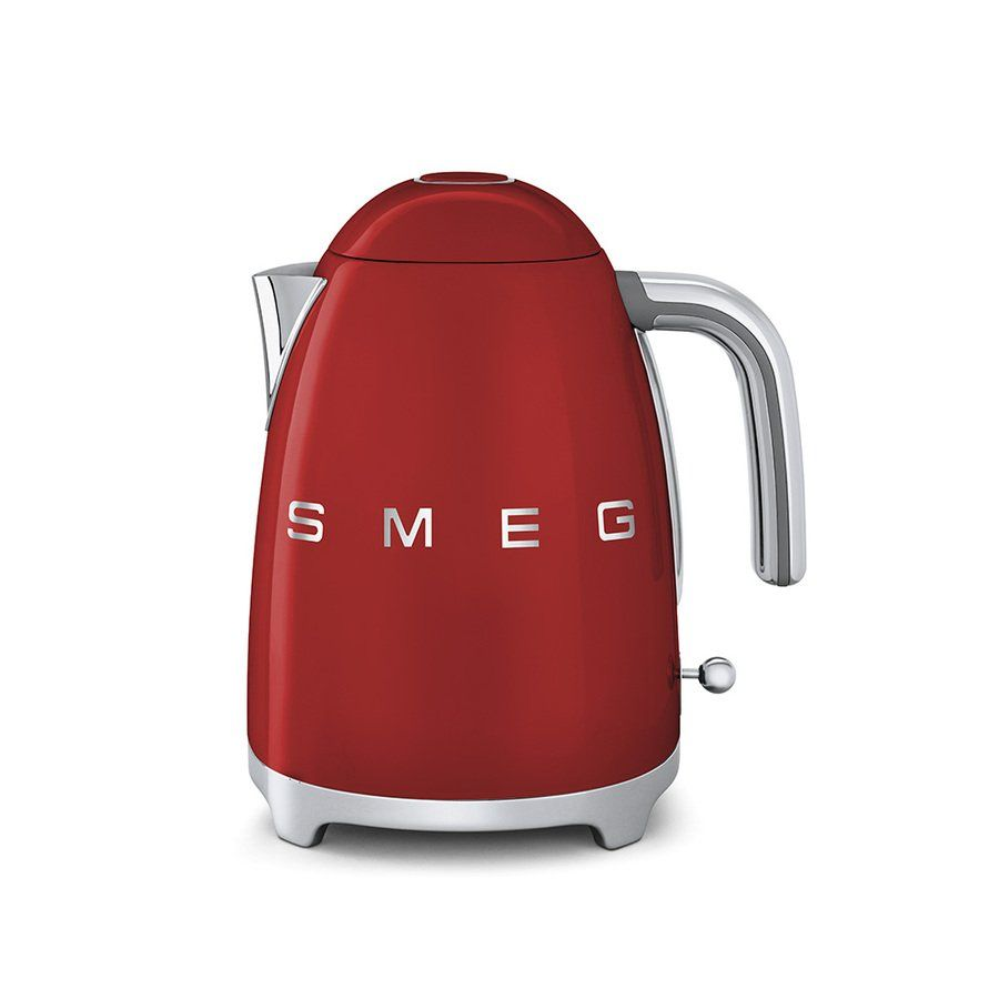 SMEG Red 7 Cup Electric Kettle Lowes