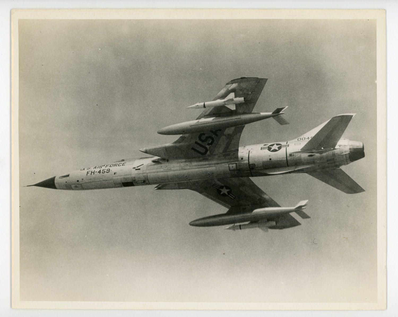 Republic F105 D Thunderchief fighterbomber vintage