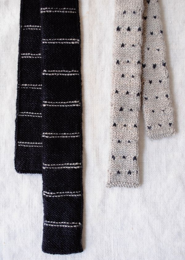 Father and Son Knit Ties | The Purl Bee | KNITTED PATTERNS ...