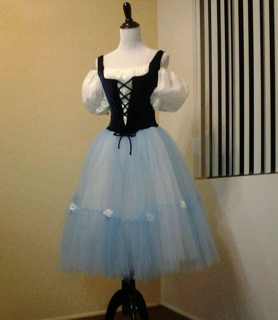 0bb7abd56031c Ballet Costume Tutu Giselle Act I Romantic Tutu Peasant styled------ Flower  Festival; Coppelia; etc.