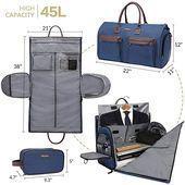 Photo of Amazon.com | Bolsa de ropa convertible con correa para el hombro, Modoker Carry on Garme …