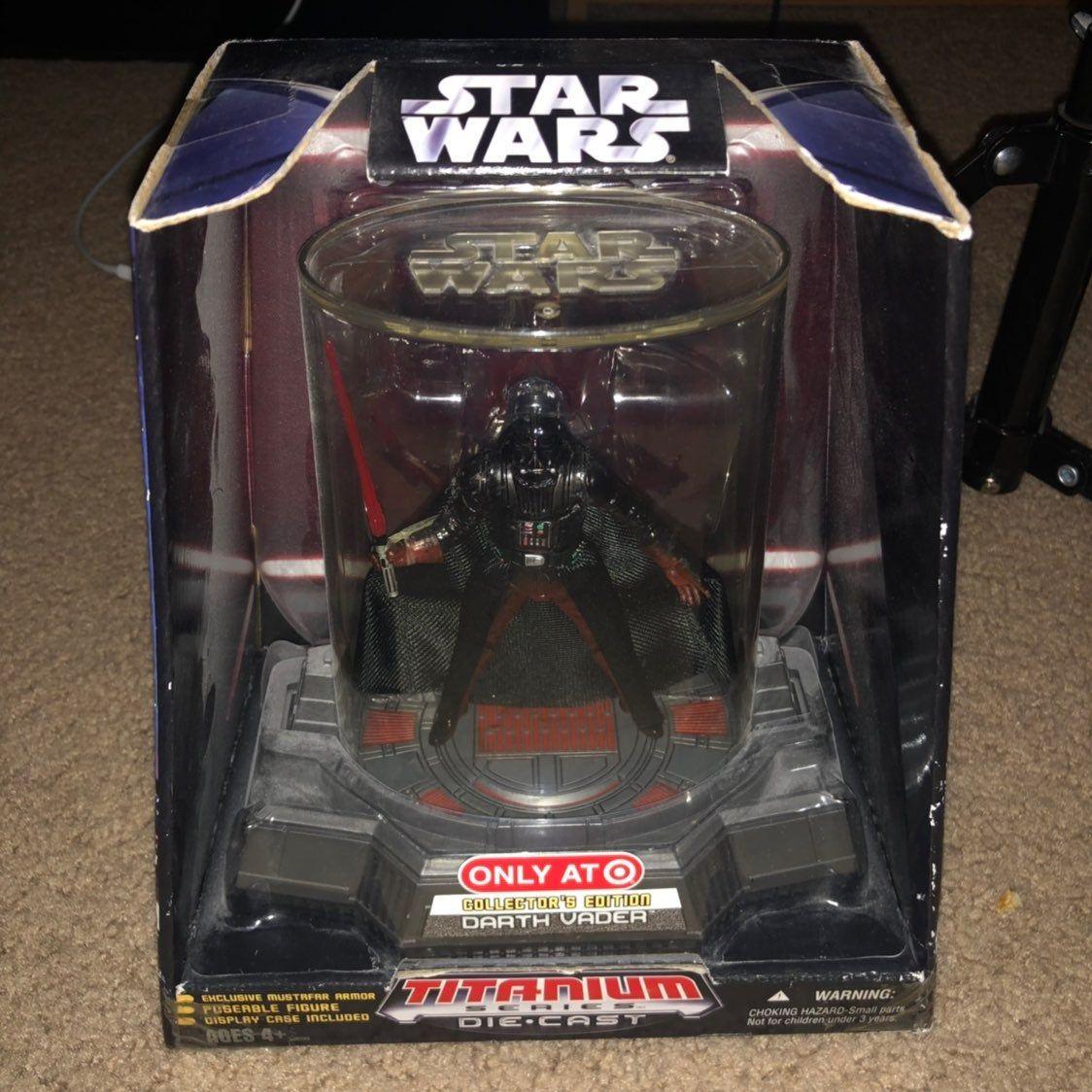 Star Wars Titanium Series 2006 édition Collector Darth Vadar TARGET EXCLUSIVE