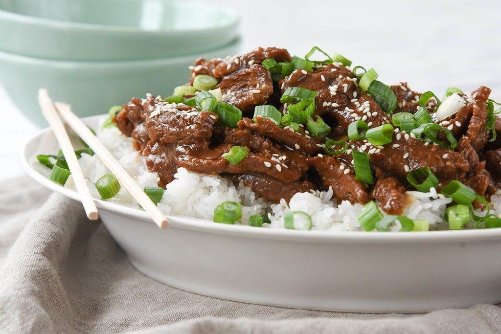Instant Pot Mongolian Beef Recipe Mongolian Beef Recipes