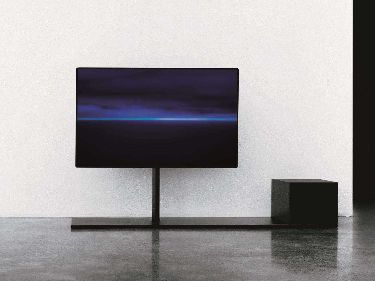 Design Swivel Metal Tv Cabinet Sail Sail Collection By Desalto Design Caronni Bonanomi Architetti Associati Lcd Unit Design Wall Mounted Tv Lcd Units