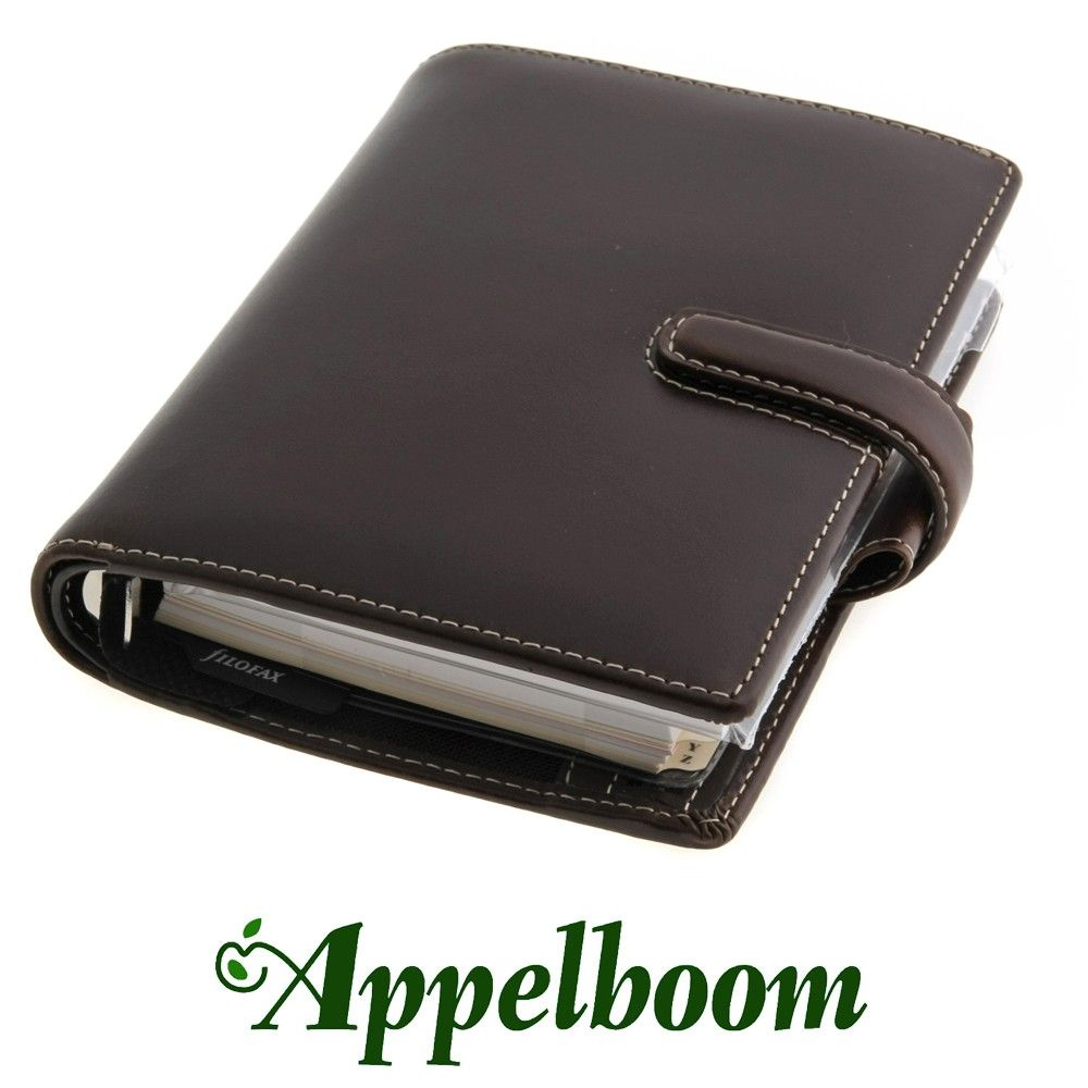 Filofax Cuban Saddle Brown Organizer. The Cuban organiser is made from luxurious Italian leather and is available in a range of warm, rich colours, combined with cream contrast stitching.